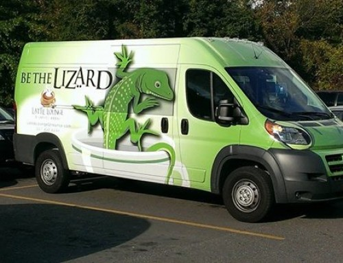 The Lizard's on the street